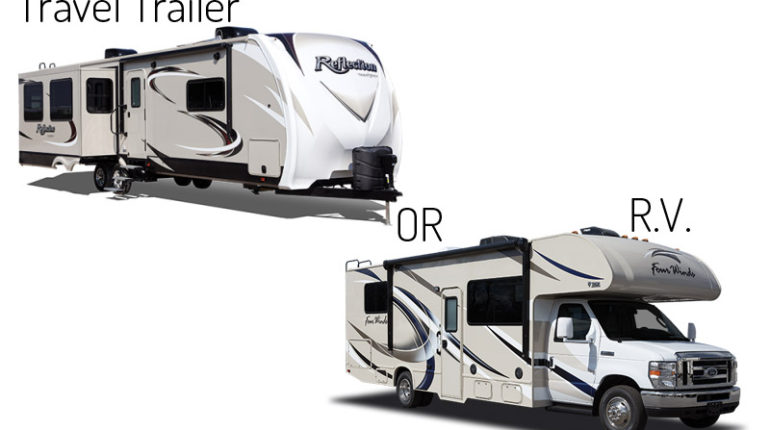 Travel Trailer or RV Recreational Vehicle