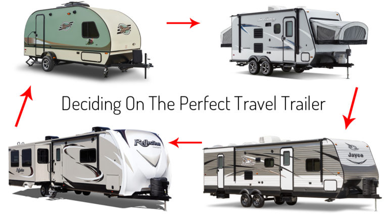 Deciding On The Perfect Travel Trailer - Which travel trailer is best for me?