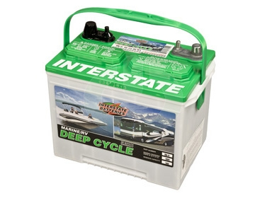 Interstate Batteries 6-volt deep cycle batteries