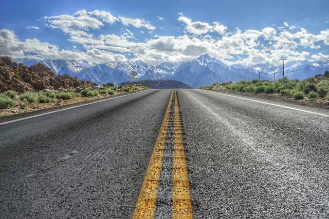 Whitney Portal Road - Sierra Nevada Mountains